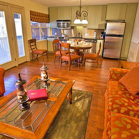 Salado Creek Villas Living Area