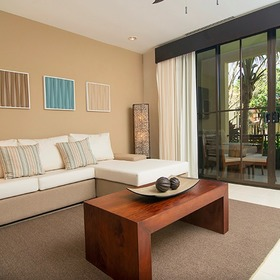 Breeze Private Residences Club Living Room