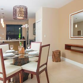 Breeze Private Residences Club Dining Area