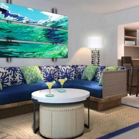 Wyndham Grand Rio Mar, a Margaritaville Vacation Club Resort Living Area