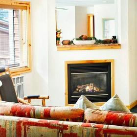 Red Wolf Lodge at Squaw Valley Living Area