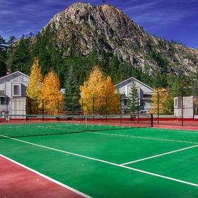 Squaw Valley Lodge Tennis Court