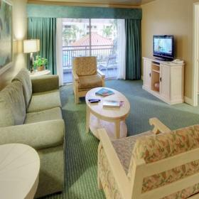 Palm Canyon Resort and Spa Living Area
