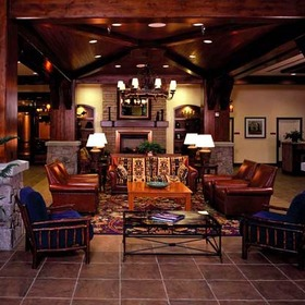 Marriott's Timber Lodge Tahoe Lobby