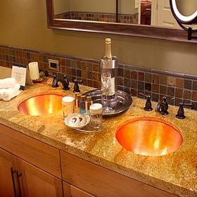 Lake Tahoe Vacation Resort Bathroom