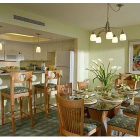 Solara Surfside - Unit Dining Area