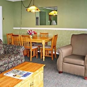 The Beachcomber Inn Living Area
