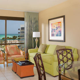 Marriott's Aruba Ocean Club Living Area