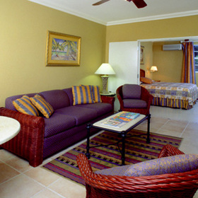 Divi Southwinds Beach and Racquet Club - Unit Living Area