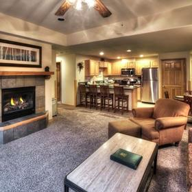 Grand Timber Lodge Living Area