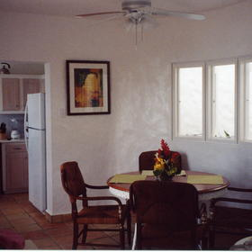 Windjammer Landing Villa Beach Resort - Unit Dining Area