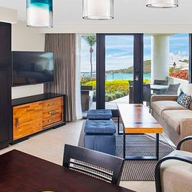 The Westin St. John - Coral Vista Villas Living Area