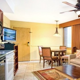 Wyndham Durango Living Area and Kitchenette