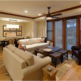 The Residences at Snowmass Club Living Area