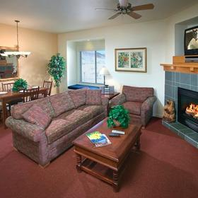 WorldMark Steamboat Springs Resort Living Area