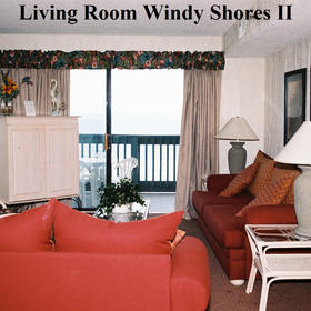 Windy Shores II - Unit Living Area