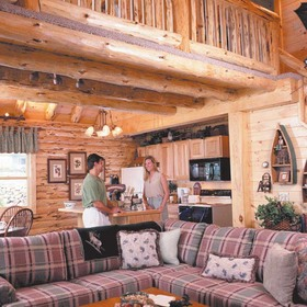 The Lodges at Cresthaven - Unit Living Area