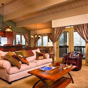 The Phoenix at Steamboat Living Area