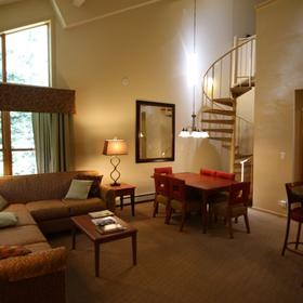StreamSide at Vail Living Area