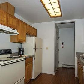 Twin Rivers Condominiums Kitchen