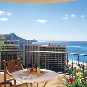 Hilton Grand Vacations Club (HGVC) at Hilton Hawaiian Village Balcony
