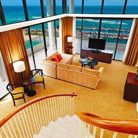 Hilton Grand Vacations Club (HGVC) at The Lagoon Tower Living Area