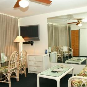 Imperial Hawaii Vacation Club Living Area