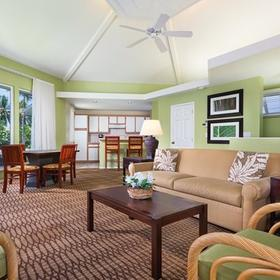 Wyndham Mauna Loa Village Living Area