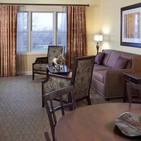 Holiday Inn Club Vacations at Lake Geneva Resort Living Area