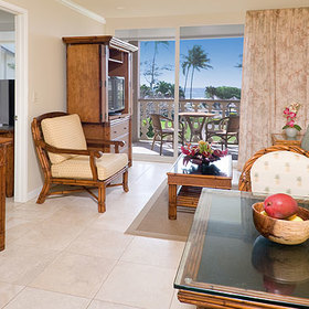 Aston Islander on the Beach Living Area