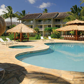 Aston Islander on the Beach Pool Area