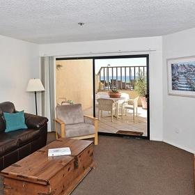 See the Sea at San Diego Living Area