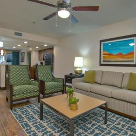 Holiday Inn Club Vacations Scottsdale Resort Living Area