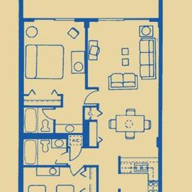 Surf Club - Unit Floor Plan