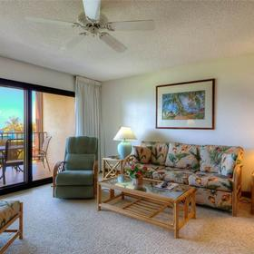 Lawai Beach Resort Living Area