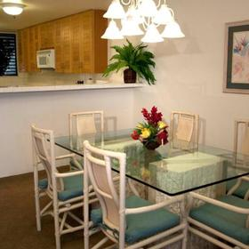 Sands of Kahana Vacation Club Dining Area