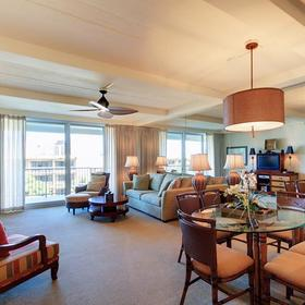 The Whaler Living Area