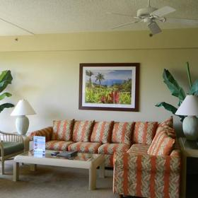 Shared Ownership at Sands of Kahana Living Area