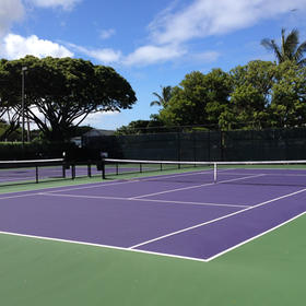 Resort at Papakea Tennis Courts