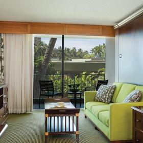 Marriott's Kauai Beach Club Living Area