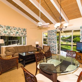 One Napili Way Living and Dining Area