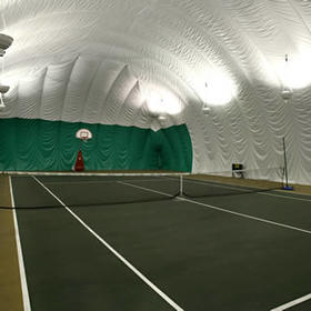 Nearby tennis courts