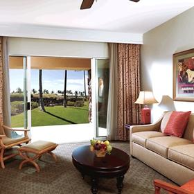 Kohala Suites by Hilton Grand Vacations Club Living Area