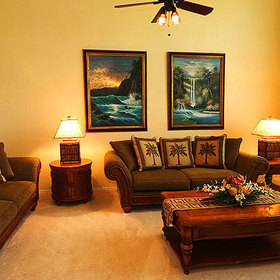 Waikoloa Colony Villas Living Area
