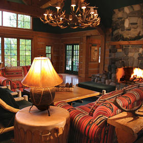 Hearthstone at Spring Mountain Ranch Living Area