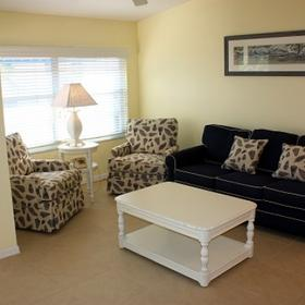 Gulf Stream Beach Resort Living Area