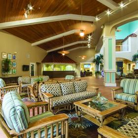 Holiday Inn Club Vacations Cape Canaveral Beach Resort Lobby