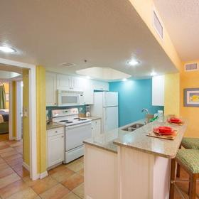Holiday Inn Club Vacations Cape Canaveral Beach Resort Kitchen