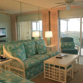 Plantation Beach Club at South Seas Resort Living Area