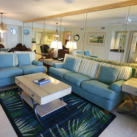Plantation House at South Seas Resort Living Area